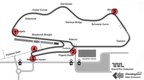 Donington Map1