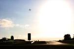 Sunrise over Donington Park