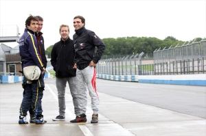 Nico Prost, Loic Duval, Sam Bird, Jerome d'Ambrosio