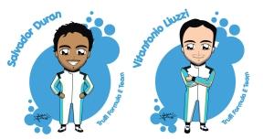 Team Trulli drivers