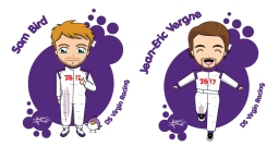 DS Virgin Racing drivers