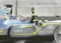 Artwork of Piquet's second win.